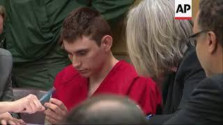 Florida school shooting suspect back in court