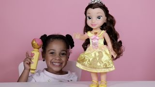 Disney Princess Sing A Long Belle Toy Review