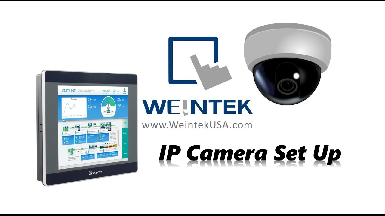 IP Camera Setup, how to change the HMI RTSP URL + Capture/play images EBPro