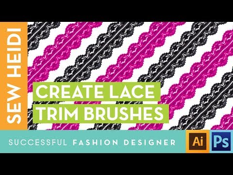 How to Create Lace Trim in Illustrator - Courses & Free Tutorials on