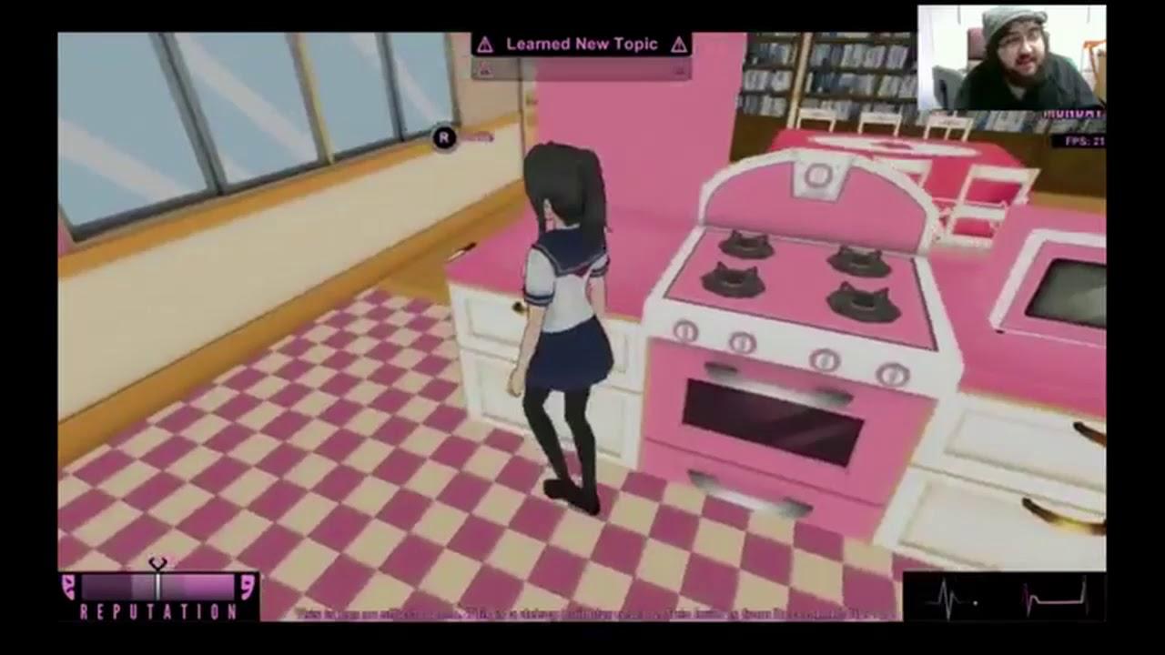 Yandere Simulator: DECEMBER 18th Build (Funny Glitches and