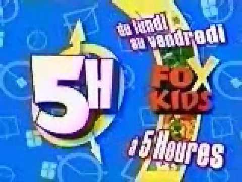 Fox Kids France - Ton 5 Heures (PRTF).ram