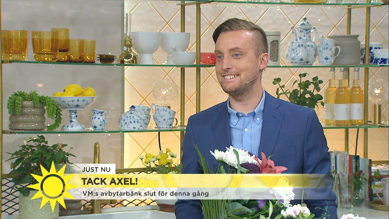 Här tackas Axel Pileby av – det här ska han göra nu  - Nyhetsmorgon (TV4)