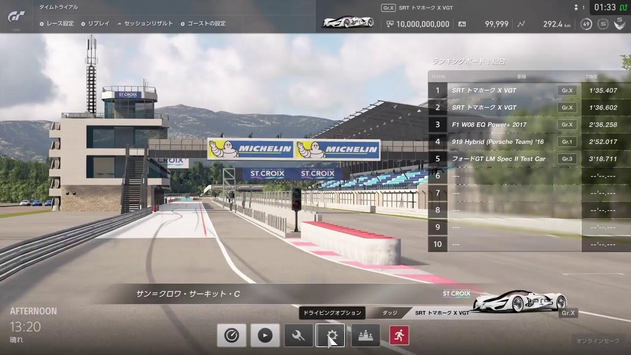 【グランツーリスモSPORT】公式戦の練習 / モンツァ(ノーシケイン) 『メルセデス AMG GT3』