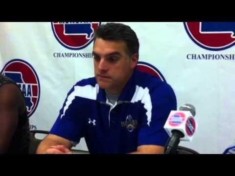Burroughs coach Gus Frerotte