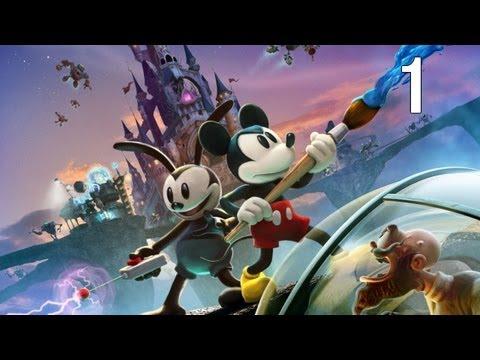 Disney Epic Mickey 2: The Power of Two - Walkthrough Part 1 [HD]
