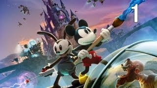 Disney Epic Mickey 2: The Power of Two - Walkthrough Part 1 [HD]