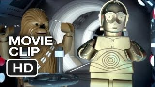 Lego Star Wars: The Empire Strikes Out DVD CLIP - Shootout (2013) - Movie HD
