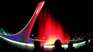 Сочи.Олимпийский парк. Поющие фонтаны и шея гуся