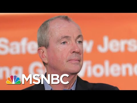 NJ Governor Defends Newark Water Crisis Response Denies Comparisons To Flint | The 11th Hour | MSNBC