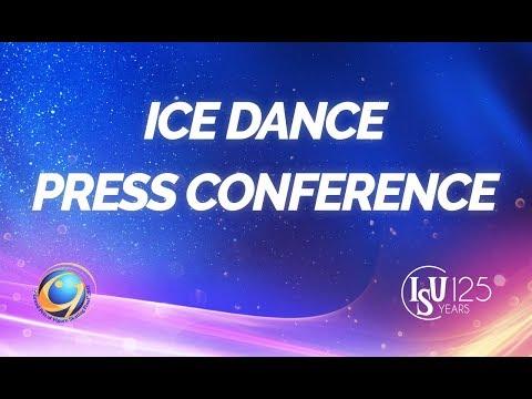 Senior Ice Dance, Short Dance  Program Press Conference- ISU  GPF 2017