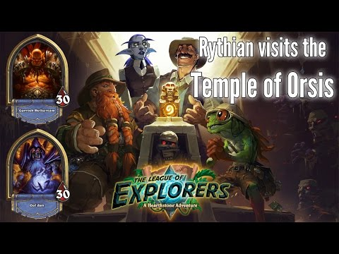 Hearthstone: League Of Explorers - Temple Of Orsis: Class Challenges
