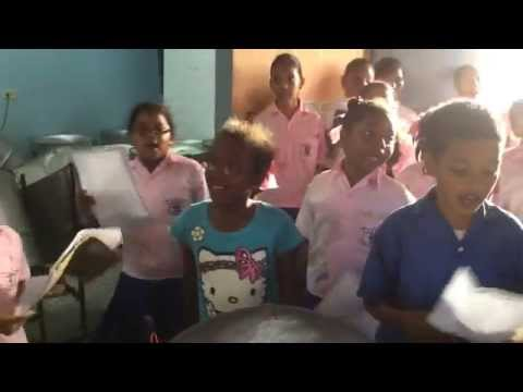 "Guaico Presbyterian School Choir - Rehearsal of ""Happy"" for 2015 ""Young Voices"" Trinidad Concert"