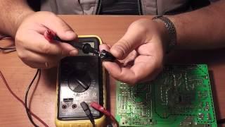 Ta'mirlash LCD TV XORO, diagnostika elektr ta'minoti - Part 2