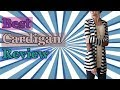 Best cardigan review-New Fashion 2017 Autumn Outerwear Women Long Sleeve Striped Printed Cardigan