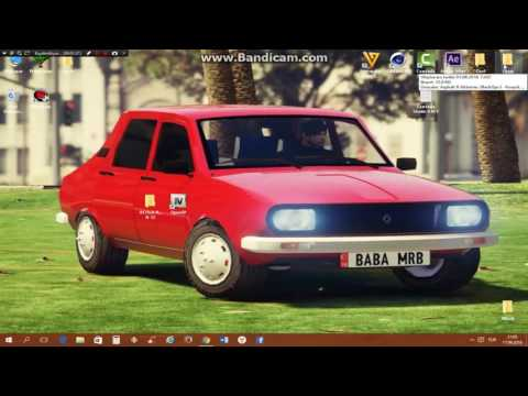 Gta 5  (Renault R 12) Mod YÜKLEME