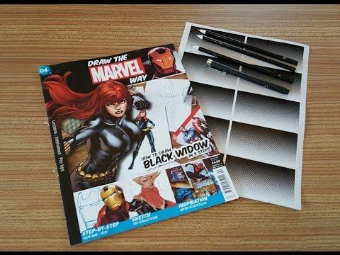 how to draw the marvel way magazine