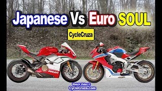 TRUTH About Japanese Vs European Motorcycles SOUL