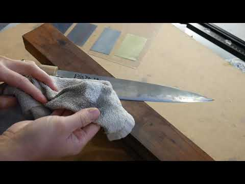 How To Remove Rust And Patina From Carbon Knife