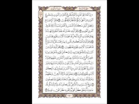 القران الكريم سورة الأنعام صفحة 140