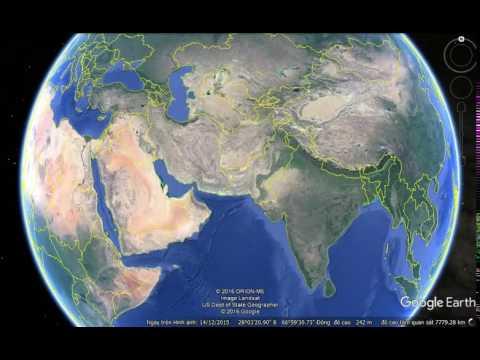 Asia to Southwest Asia
