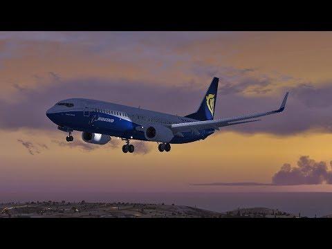 Ryanair Boeing 737 | Malta Luqa LMML - Catania LICC | Vatsim FSX-SE
