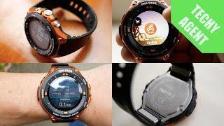 Casio ProTrek WSD F20 - Best Android Wear GPS Watch?