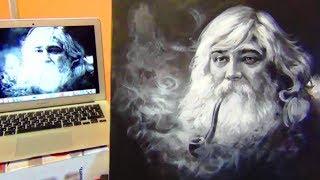 Как нарисовать ПОРТРЕТ АКРИЛ! Учимся рисовать ПОРТРЕТ! Как Научиться РИСОВАТЬ