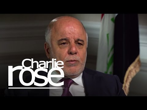 Iraqi PM Abadi: The Fight Against ISIL Is Bringing Iraq Together (Apr. 17, 2015) | Charlie Rose