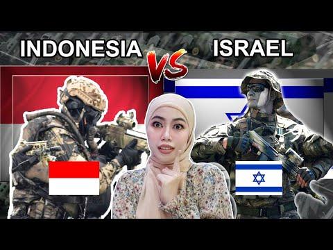 Indonesia vs Israel Military Power Comparison 2021