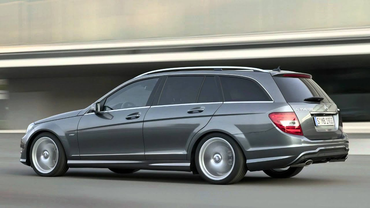 2012 mercedes benz c class estate youtube. Black Bedroom Furniture Sets. Home Design Ideas