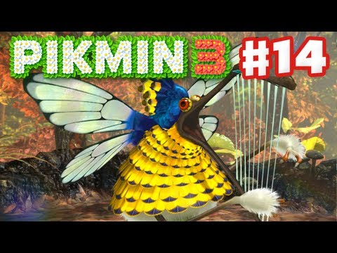 Pikmin 3 - Day 14 - Scornet Maestro Boss Fight! (Nintendo Wii U Gameplay Walkthrough)