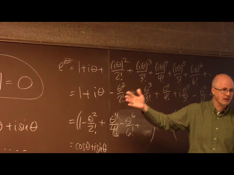 Intro Real Analysis, Lec 29, The Most Beautiful Equation, Taylor Series Calculations