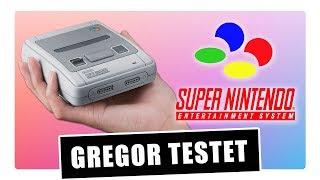 Gregor testet Super Nintendo Classic Mini (Review)