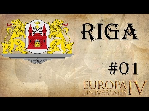 EU IV Riga - Terra Mariana achievement run 1