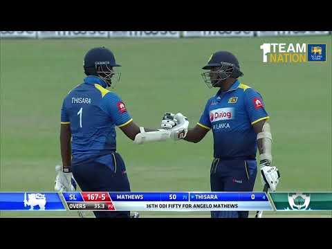 2nd ODI Highlights - Sri Lanka vs South Africa at Dambulla