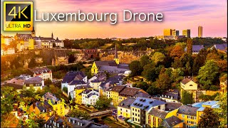 Luxembourg, Luxembourg - 4K UHD Drone Video