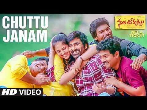 Chuttu Janam Video Song || Nela Ticket Songs || Ravi Teja, Malvika Sharma, Shakthikanth Karthick