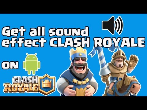 No need to download For ringtone Clash Royale