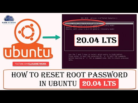 How To Reset Root/Username/Forgot Password In Ubuntu 20.04 From Both Recovery Mode And Root Shell