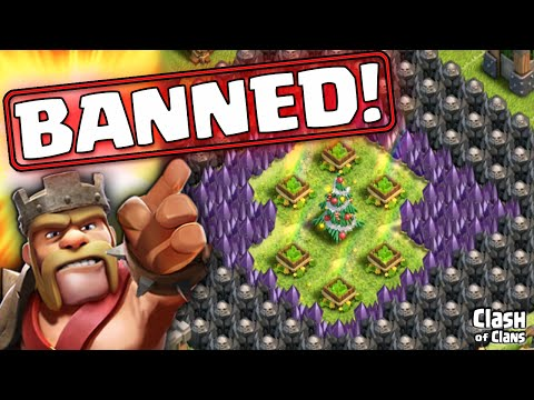 Clash of Clans - Peter17$ BANNED - for Winning Clash of Clans!