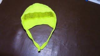 Вязание детской шапочки для новорожденного  Часть 6 из 13