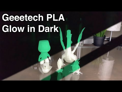 Geeetech Glow In Dark Green PLA - 1,75mm 3D Printer Filament