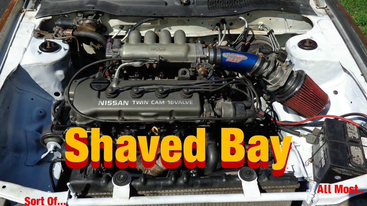 b13 sentra shaved bay update youtube rh youtube com