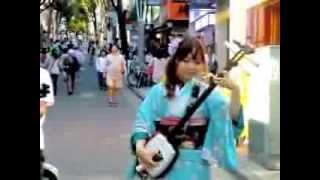 hanamas「八木節&火群」@神楽坂まち舞台2013 10 13