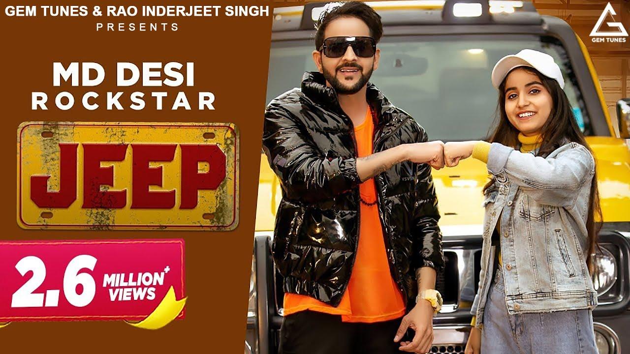 MD Desi Rockstar : Jeep (Official Video) Renuka Panwar   New Haryanvi Songs 2021   Latest Songs 2021