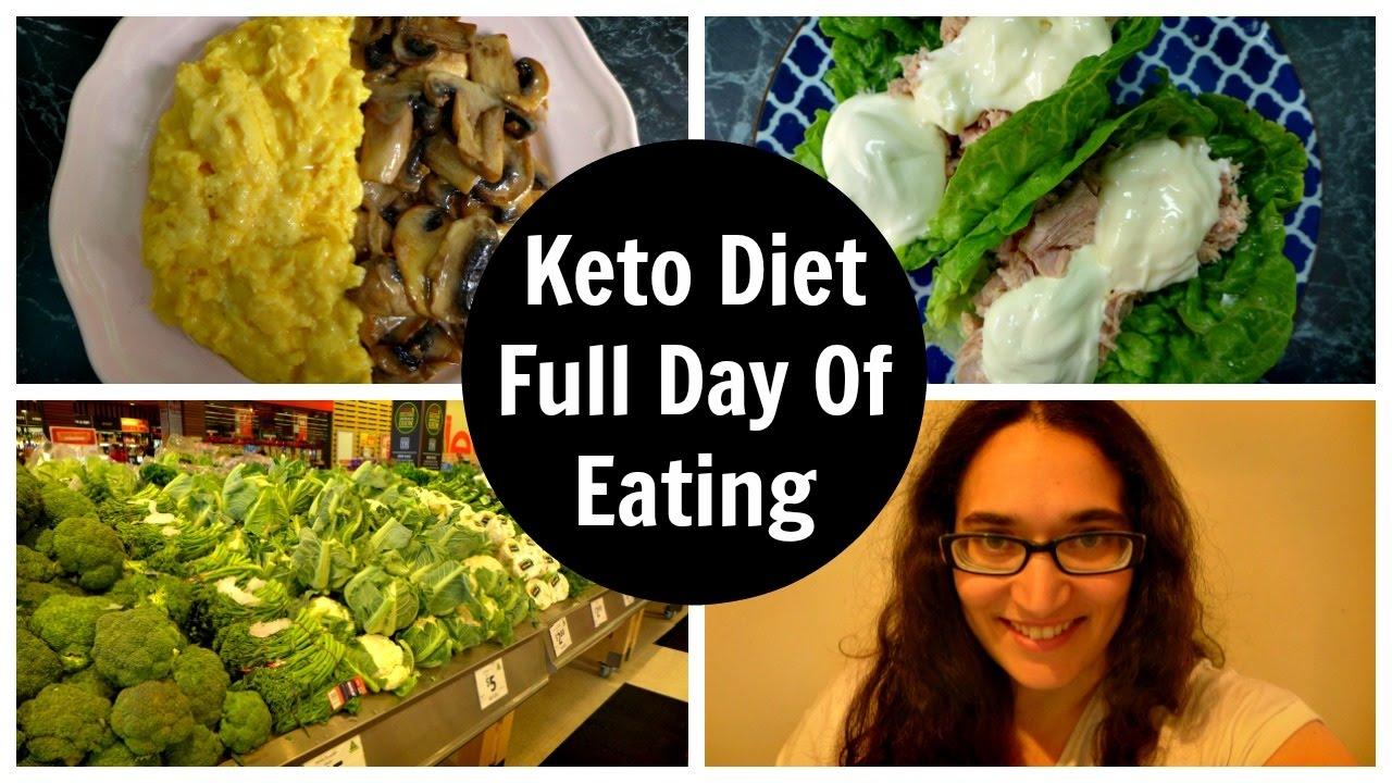 Keto Diet Full Day Of Eating - Vlogmas 14 - YouTube