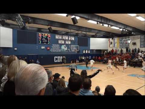 Corona del Mar vs Pasadena CIF-SS Basketball Highlights