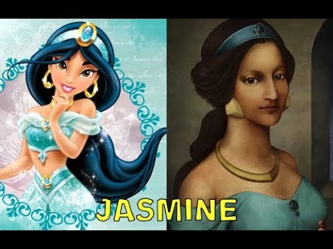 Disney Princesses in The Renaissance 1 in Real Life