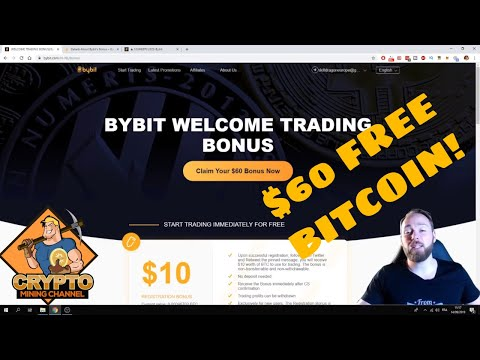 Bybit Trading Bonus: Get $60 FREE BITCOIN For Trading